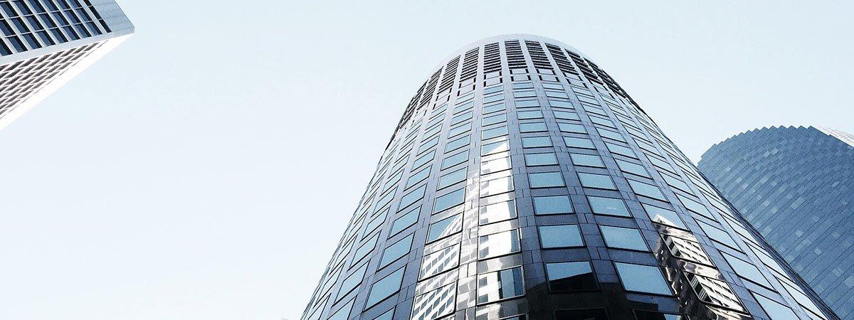Edificios altos de cristal